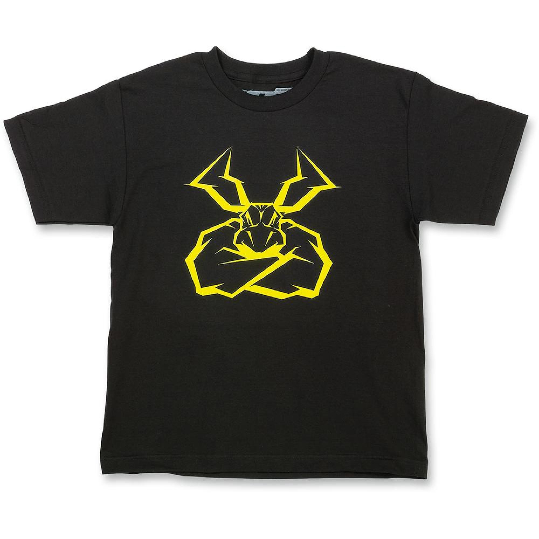 Moose Racing T-Shirt Barn AGROID 2018 Svart