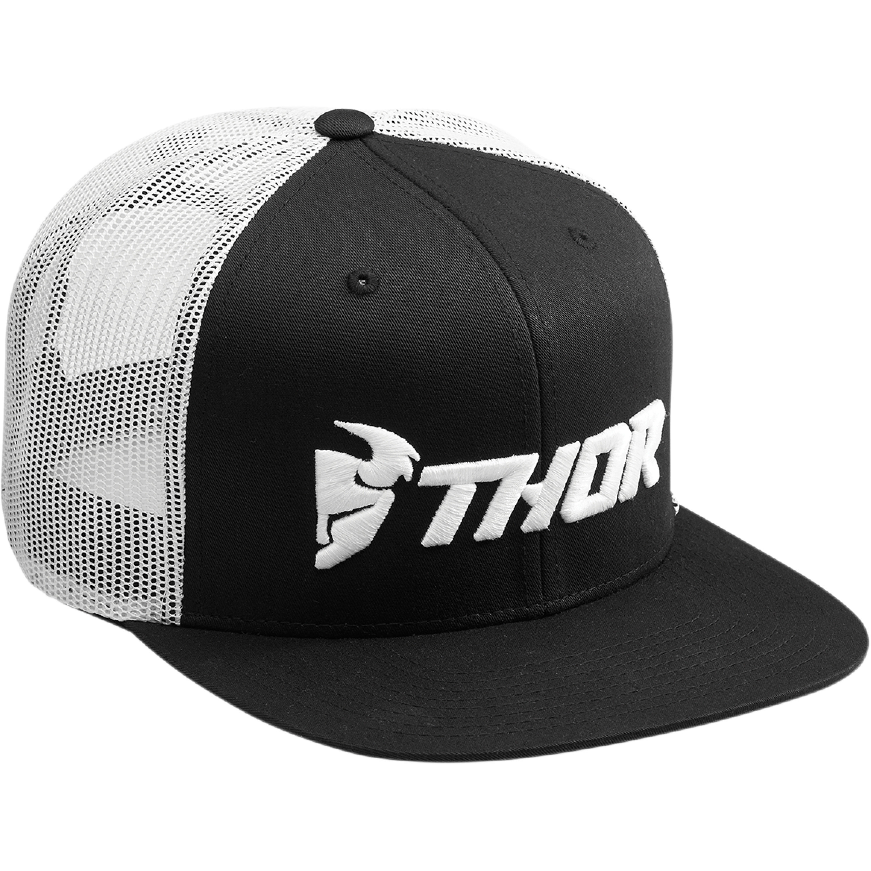 Thor Keps Trucker Snapback Svart/Vit