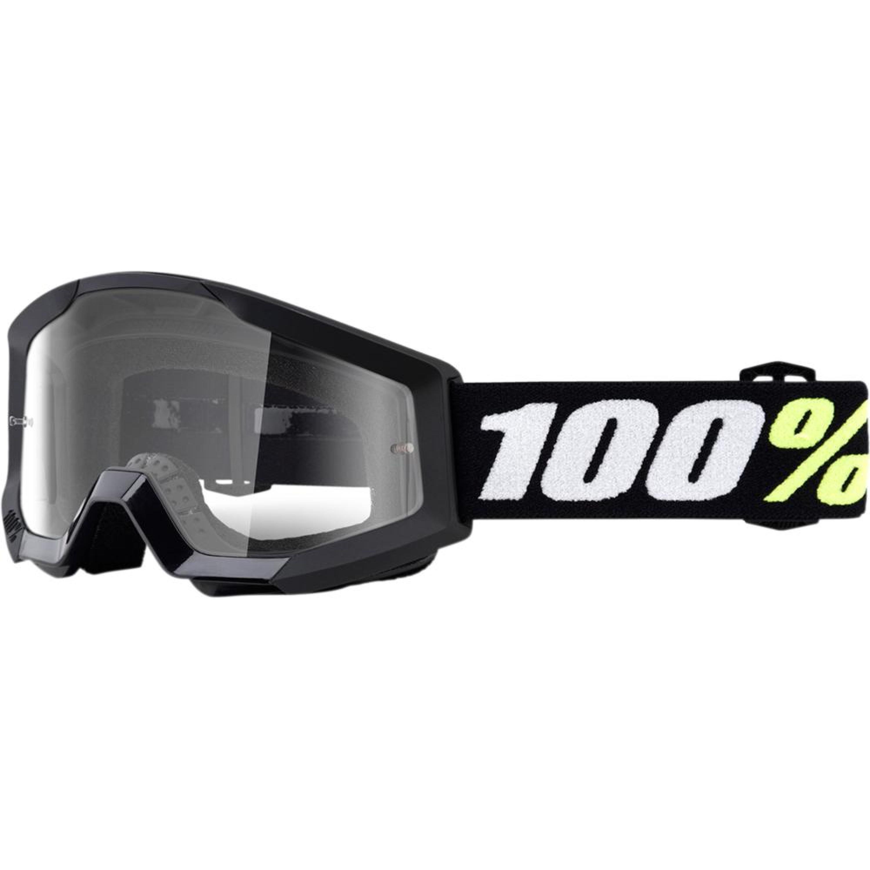 100% Crossglasögon Barn upp till 6 år Strata Mini 2018 Svart Klar