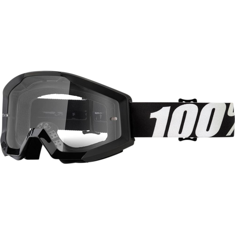 100% Crossglasögon Strata Outlaw 2018 Svart Klar