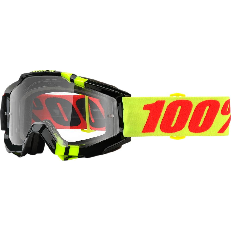 100% Crossglasögon Accuri Zerbo 2018 Gul/Svart Klar