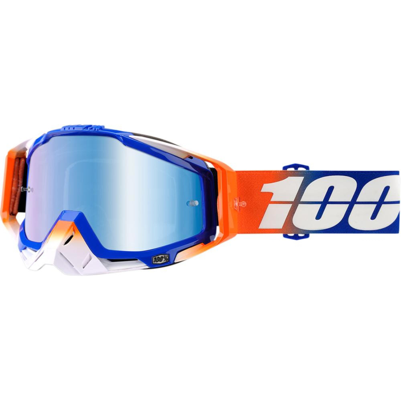 100% Crossglasögon Racecraft Roxburry 2018 Orange Spegel
