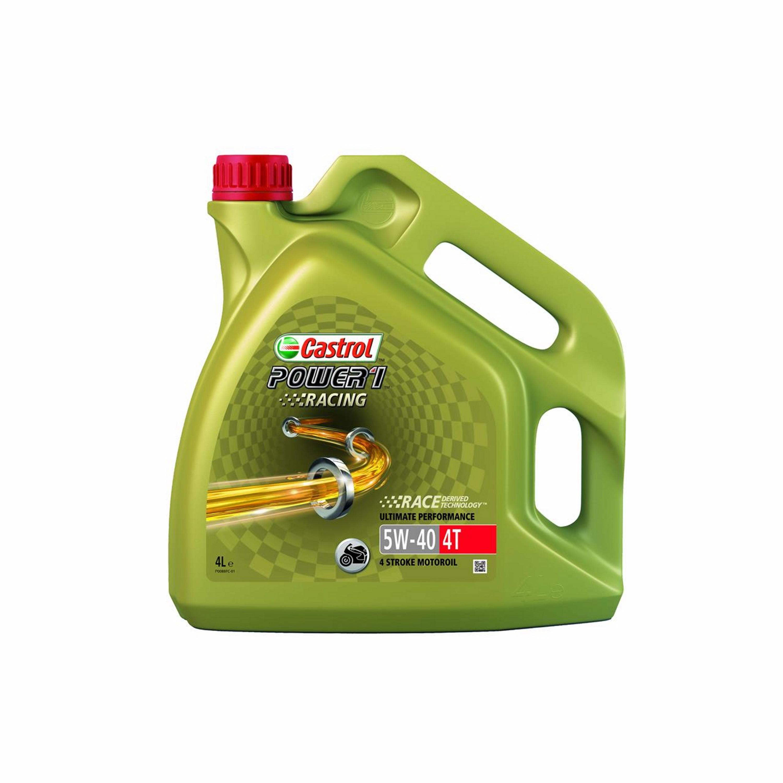 ENGINE OIL 4T CASTROL | POWER 1 RACING 4T 5W40 | 464620 / 4X4L