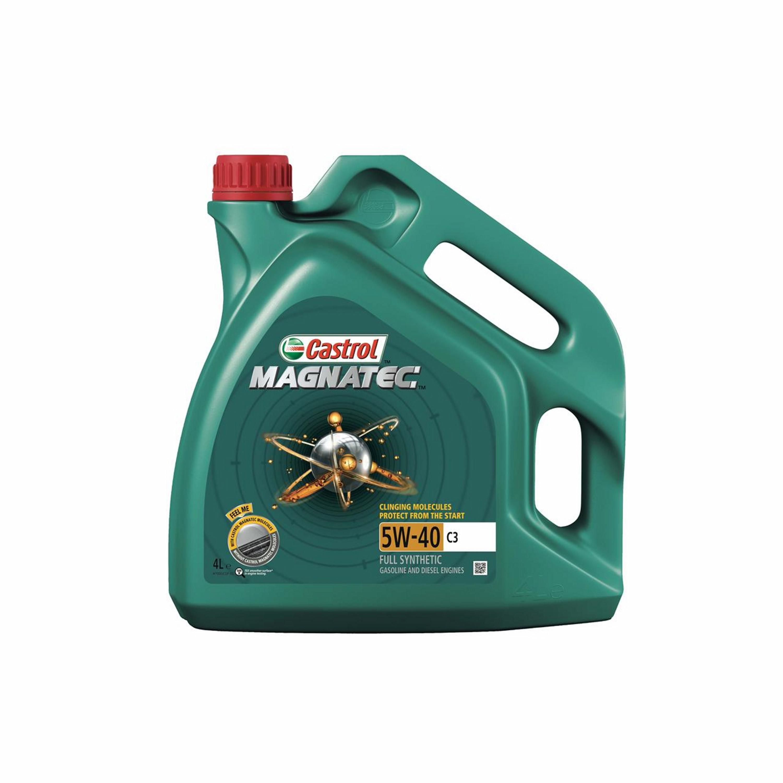 ENGINE OIL 4T CASTROL | MAGNATEC 5W40 C3 | 465127 / 4X4L