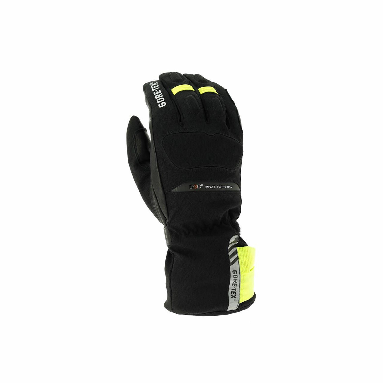RICHA Mc-Handskar North Gtx 2018 Svart/Gul/Fluorescerande