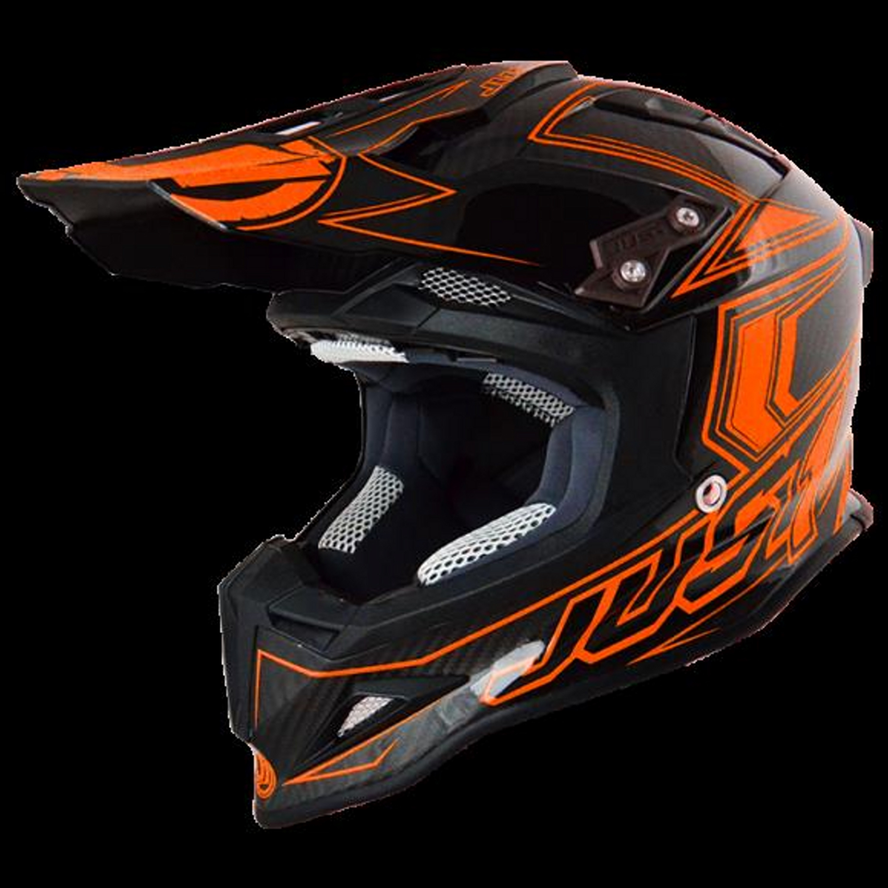 HELMET JUST1 J12 | CARBON FLUO OR | SIZE XS