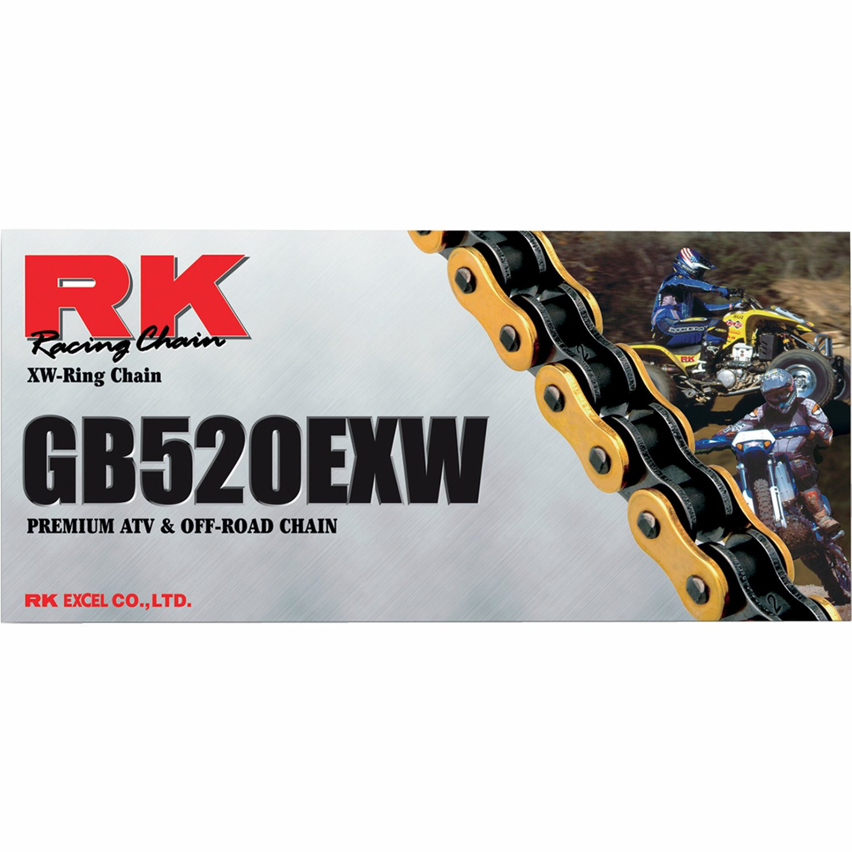 Kedjelås RK GB5520EXW Guld