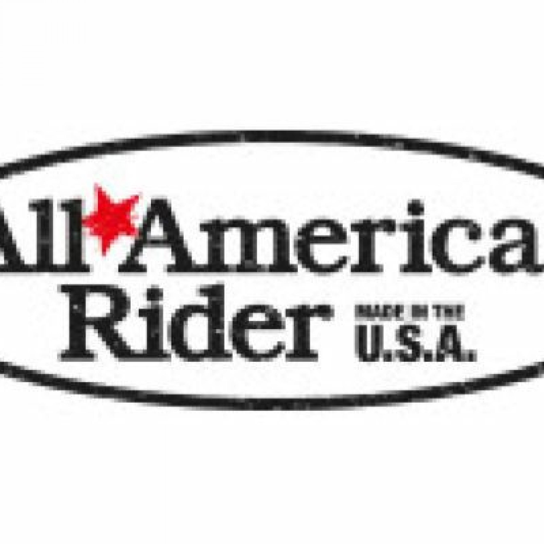 ALL AMERICAN RIDER Logo