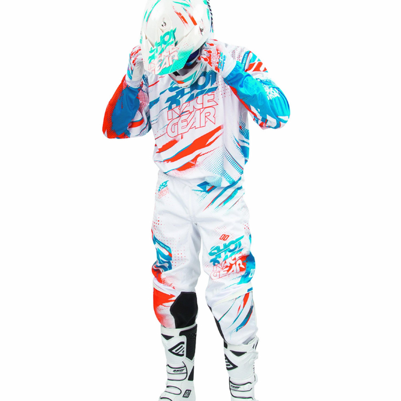 SHOT Crosskläder Devo Capture 2016 Vit/Orange
