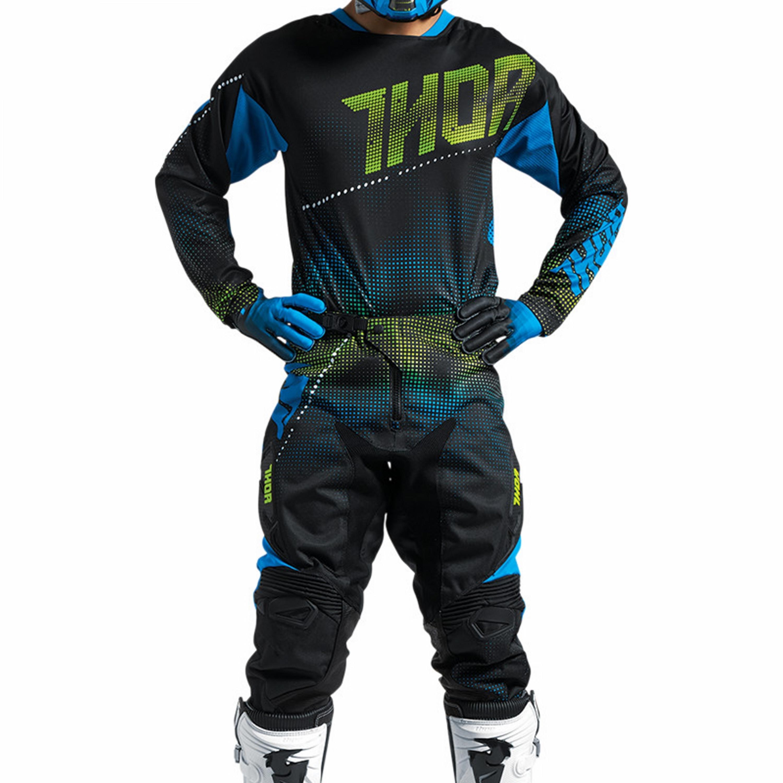 THOR Crosskläder FUSE LIT 2017 Svart
