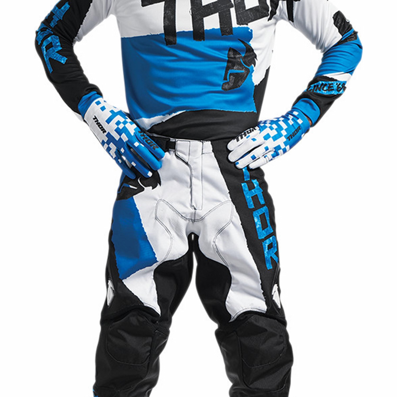 Thor Crosskläder Pulse Taper 2017 Blå/Vit