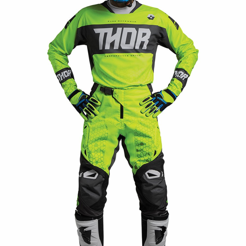 Thor Crosskläder FUSE BION 2018 Lime