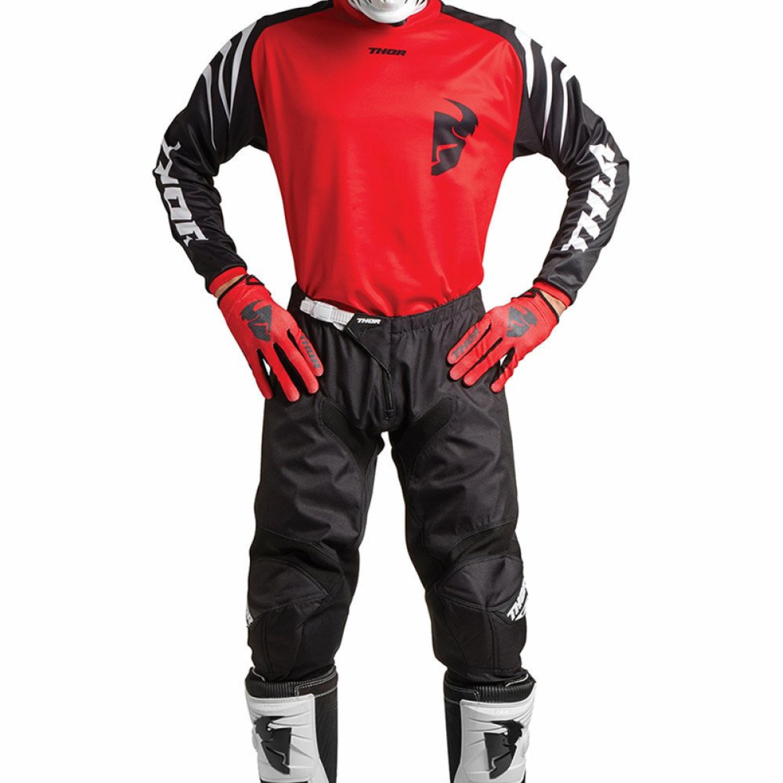 Thor Crosskläder SECTOR 2018 Röd