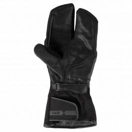 IXS MC-Handskar Fodrade 3-Finger-ST Svart