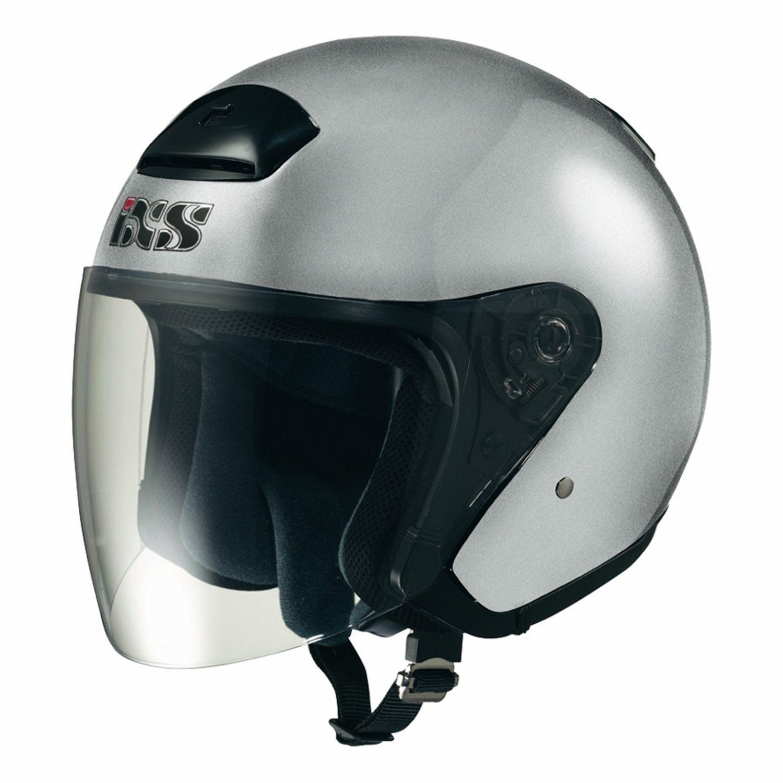 Ixs Öppen Hjälm Hx 118 Silver - Motoaction 9af38eb607b0e