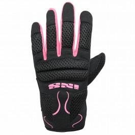 IXS Scooterhandskar Dam City Glove Samur Evo Lady Svart/Rosa