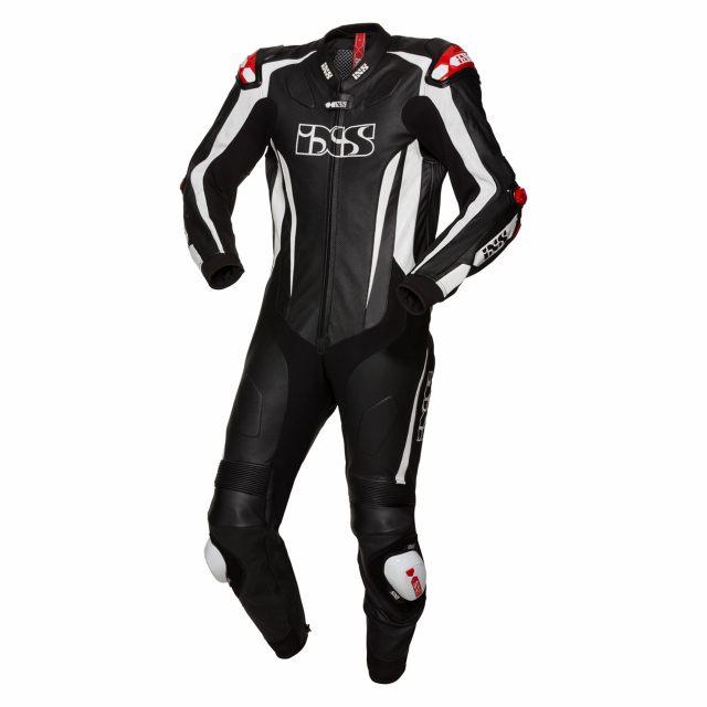 IXS Skinnställ Sports Kangaroo Suit RS-1000 Svart/Vit