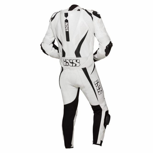 IXS Skinnställ Sports Suit RS-1000 white-black