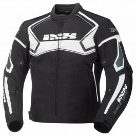 IXS Textiljacka Activo Svart/Vit