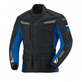 IXS Textiljacka Evans Svart/Blå