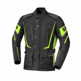 IXS Textiljacka Powell Svart/Neongul