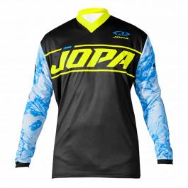 JOPA MX Crosströja Infinity Light Blå/Neongul
