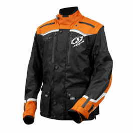 JOPA MX Endurojacka Factory Svart/Orange/Vit