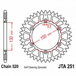 JT REAR SPROCKET 48 TEETH | ALUMINIUM