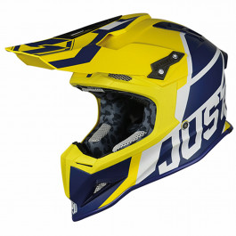JUST1 Helmet J12 Unit Blue-Yellow 60-L