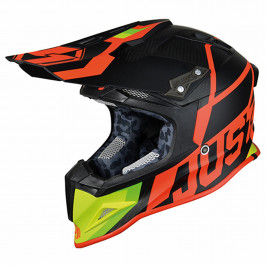 JUST1 Helmet J12 Unit Red-Lime 60-L