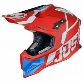 JUST1 Helmet J12 Unit Red-White 62-XL