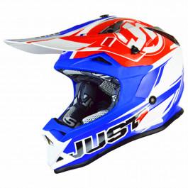 JUST1 Helmet J32 PRO Rave Red-Blue 58-M