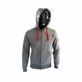 JUST1 Hoodie Grey M