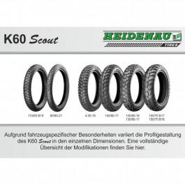 K60SCOUT 150/70B18 70T TL