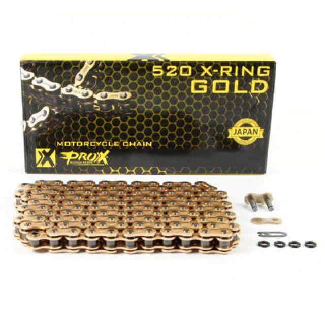 Kedja 520 X-Ring Guld Prox