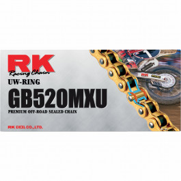 Kedjelås RK GB520MXU Guld