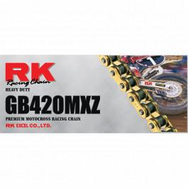 Kedjor GB420MXZ Guldfärgad Heavy-Duty RK