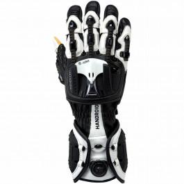 Knox MC-Handskar HANDROID Svart/Vit