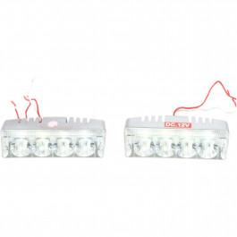 LIGHT DRV/FOG LED 4-1W PR