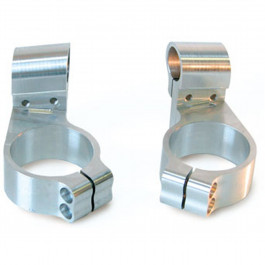 LighTech Alu7075 upphöjd clip-on 20mm, Ø50, 1 par