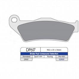 Bromsbelägg FRAM DP-Brakes