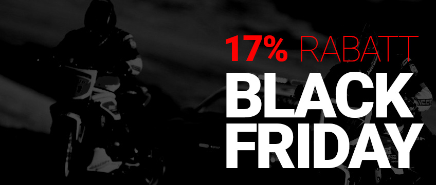 Black Friday hos MotoAction - Hela mc sortimentet 4ecb8c089cdde