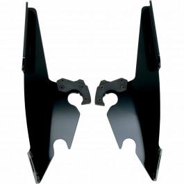 Batwing Enkel Monteringssats Svart MEMPHIS SHADES