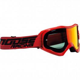 Moose Racing Crossglasögon Qualifier Shade Röd