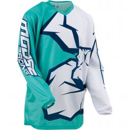 MOOSE RACING Crosströja Barn Qualifier Mint/Vit/Navy