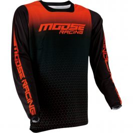 MOOSE RACING Crosströja M1 Orange/Svart