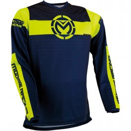 MOOSE RACING Crosströja Qualifier Navy/Hi Viz