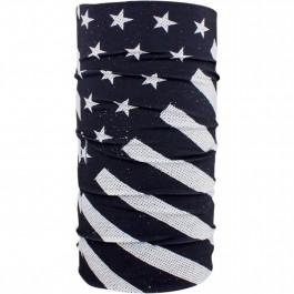 MOTLEY TUBE BLK/WHT FLAG