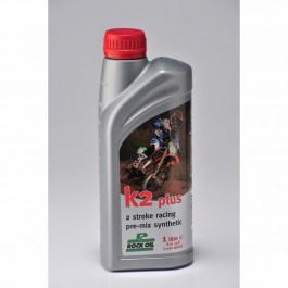 Motorolja 2-Takt Delsyntet Racing K2 Plus 1L Rock Oil
