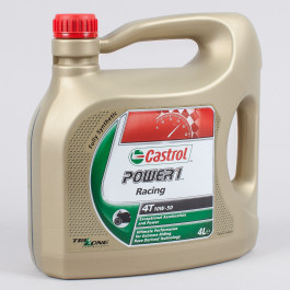 Motorolja 4-Takt Helsyntet Power 1 Racing 4L Castrol